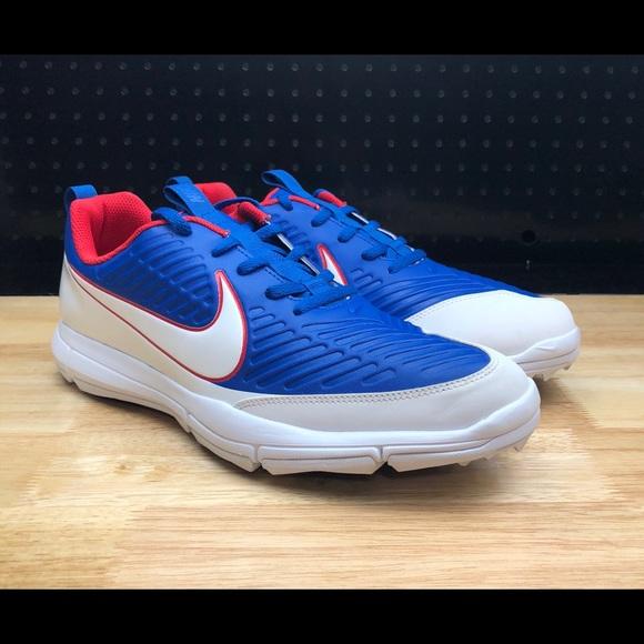 2450bf74370a NEW Nike Explorer 2 Spikeless Golf Shoes USA sz 10